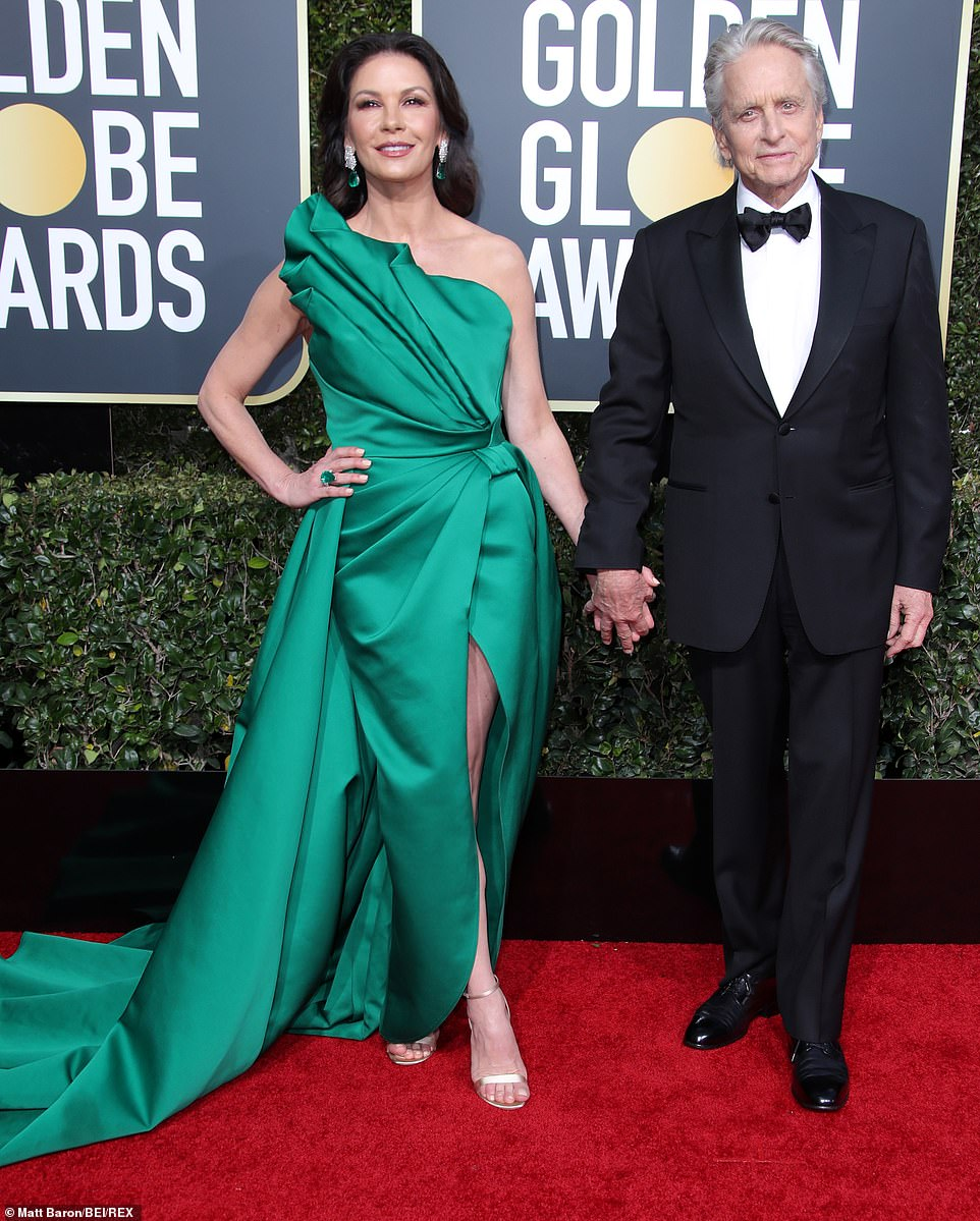 Catherine Zeta-Jones Golden Globes 2019