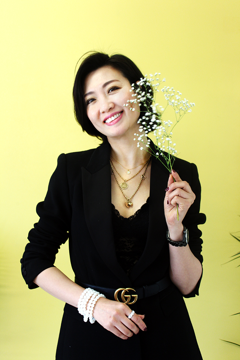 Angel Xue international womens day interview pretty happy smile