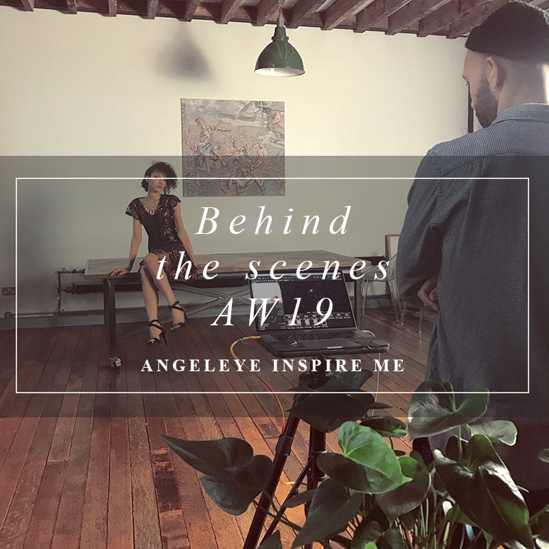 AW19 Photoshoot with Team ANGELEYE | Behind the scenes