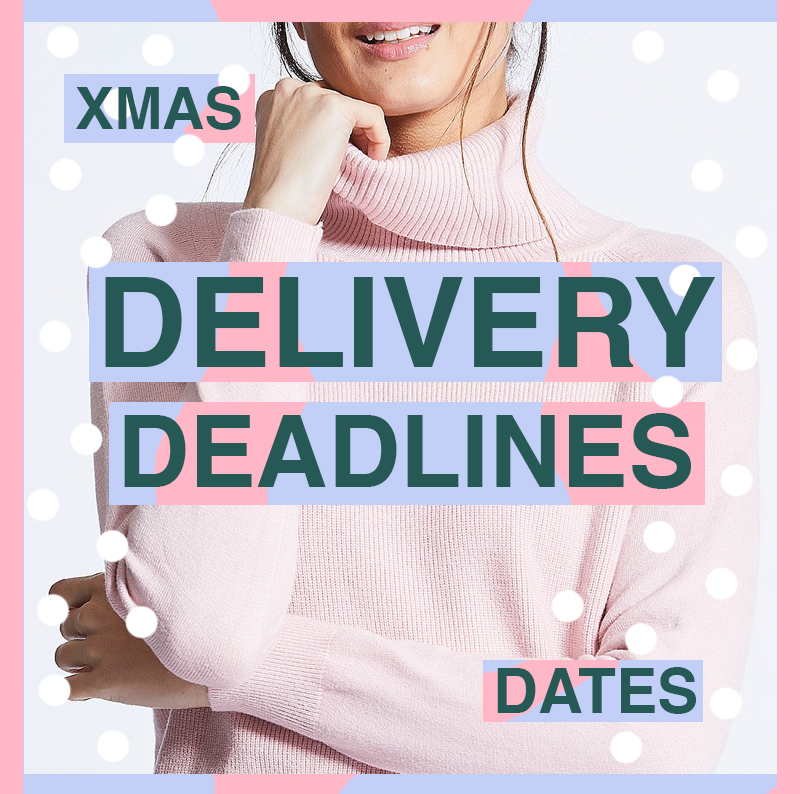 Christmas Delivery Deadlines Royal Mail ANGELEYE Clothing