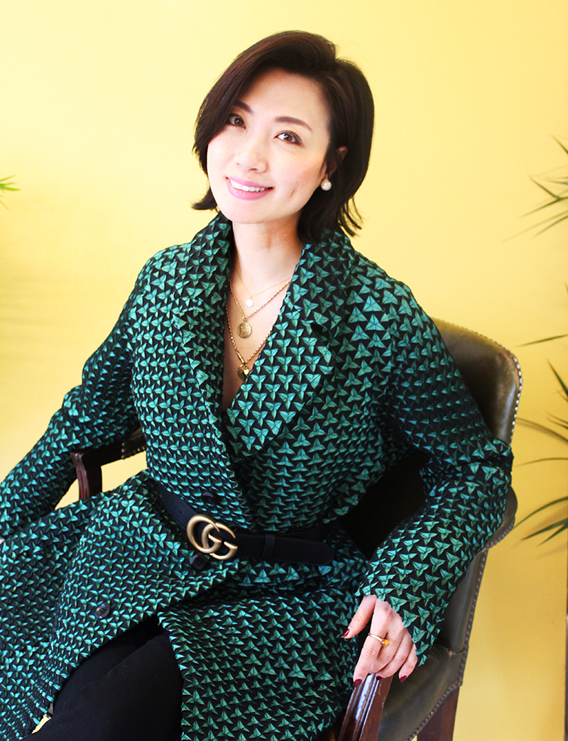Angel Xue Creative Director Founder of ANGELEYE International womens day interview