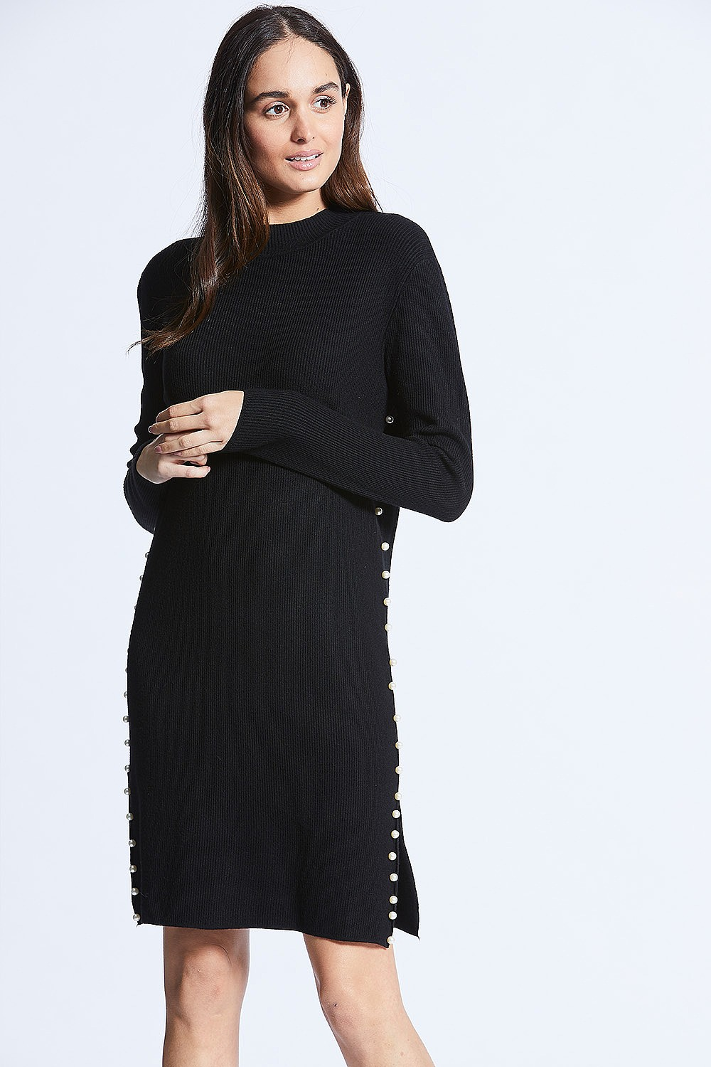 Little Black Jumper Dress