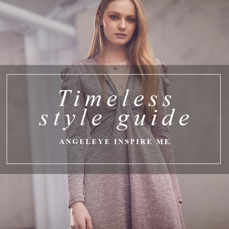 Key Wardrobe Pieces | ANGELEYE Timeless Style Guide