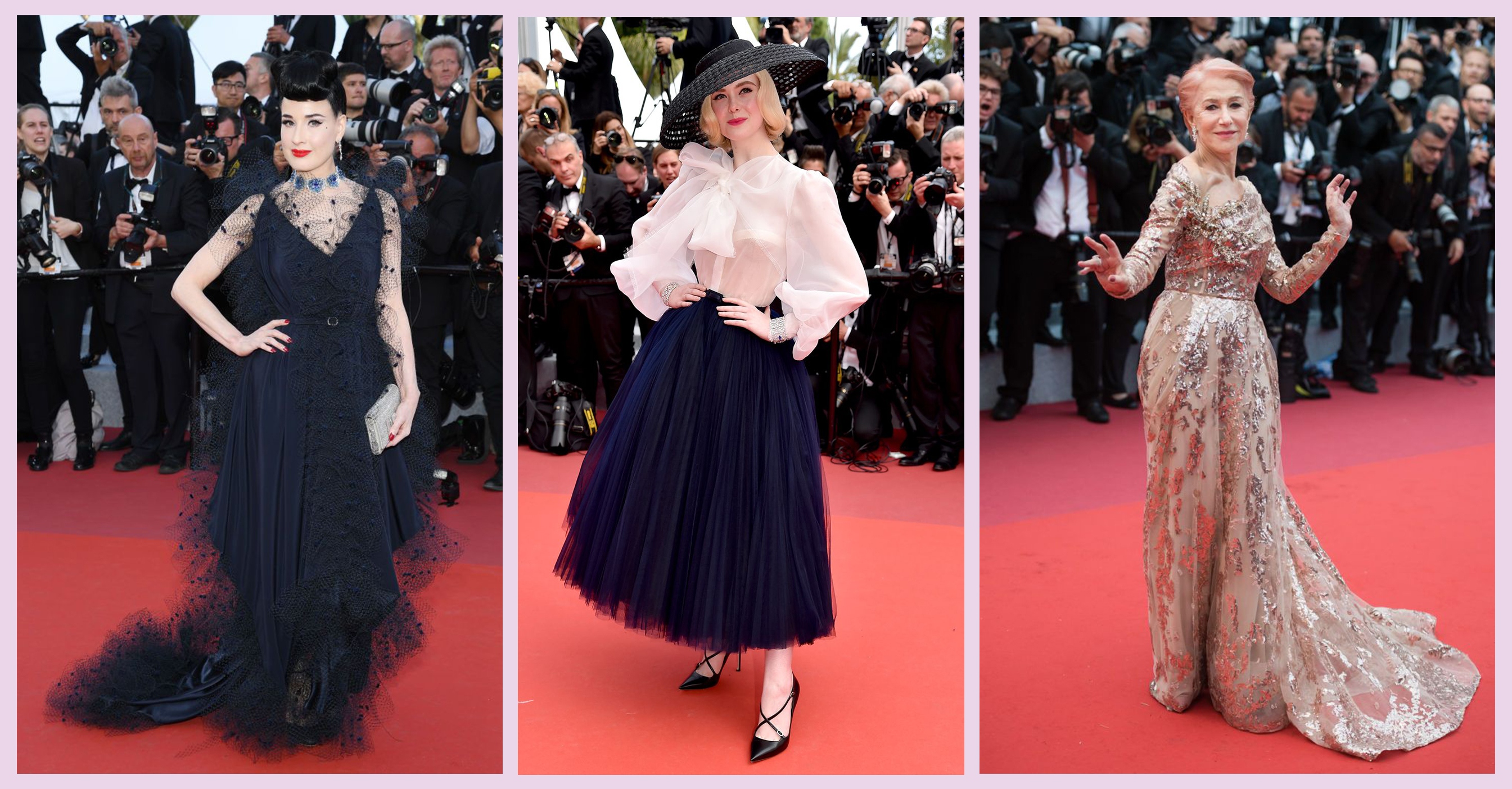Cannes Festival Beautiful Embellished Dresses