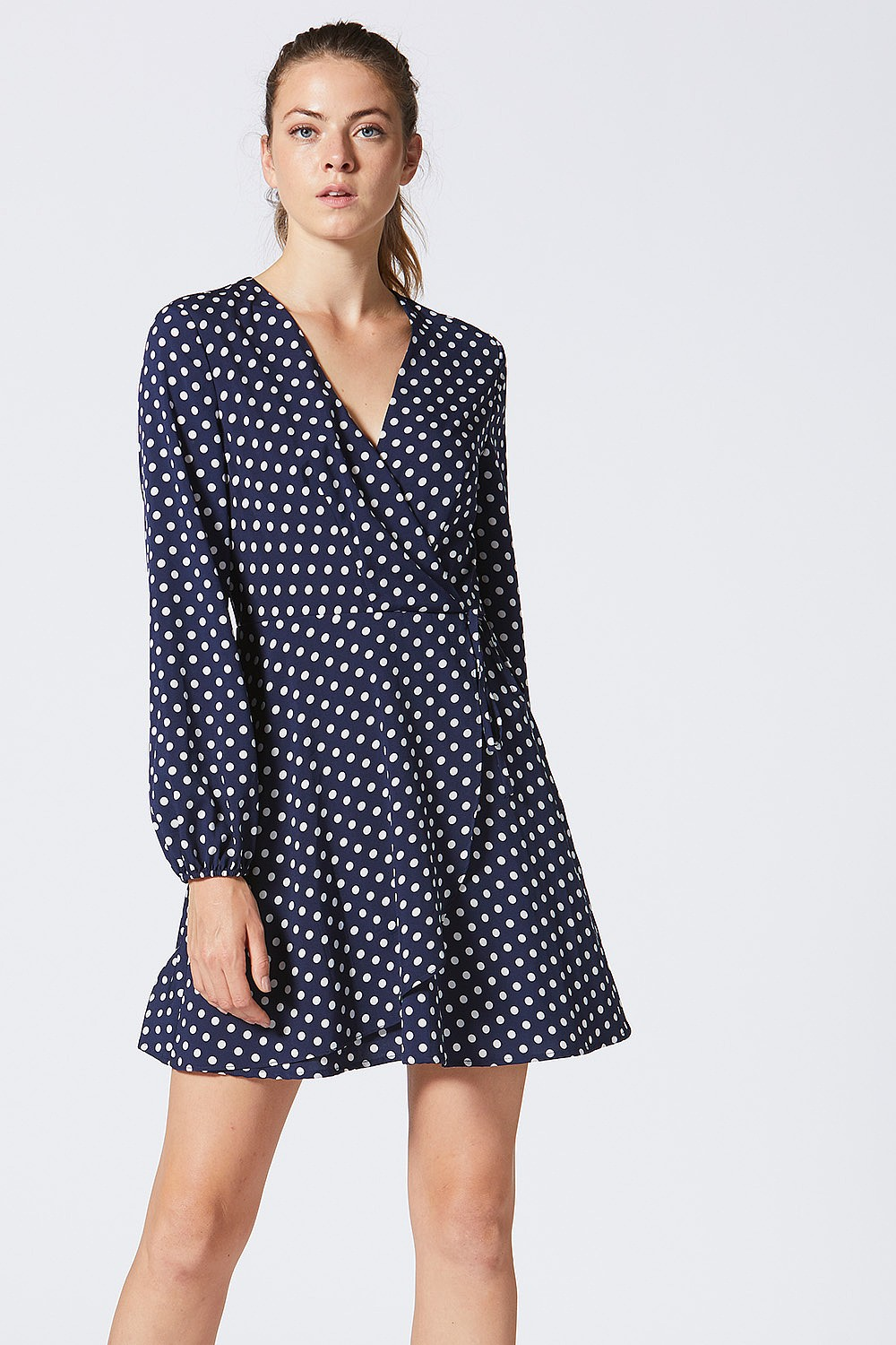 Angeleye Polka Dot Dress