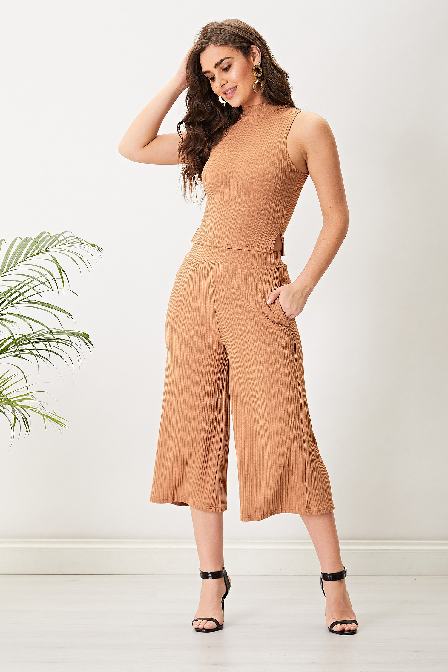 Brown Culottes