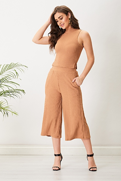 Coffee Brown Culottes