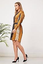 53f9ff93f08 Black and Chain Print Shirt Dress · Home   Womens Designer Clothing    Designer Dresses